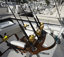 sport fishing boat Fighting chair