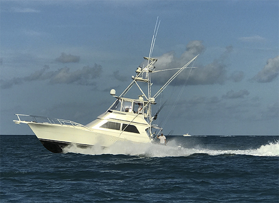 47ft Viking Convertible Sport fishing boat for deep sea fishing charters out of Key West