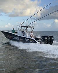 Too Intense 36ft Yellowfin Center Console