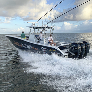 36 ft Yellowfin Center Console fishing rates