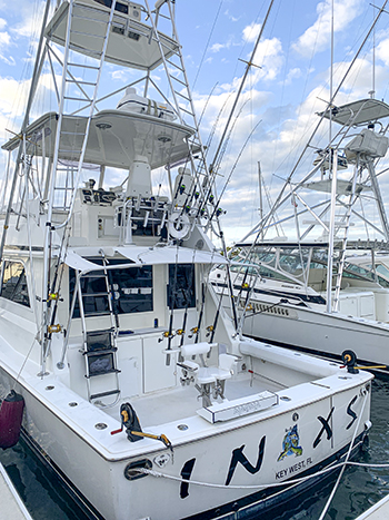 Deep Sea fishing rates