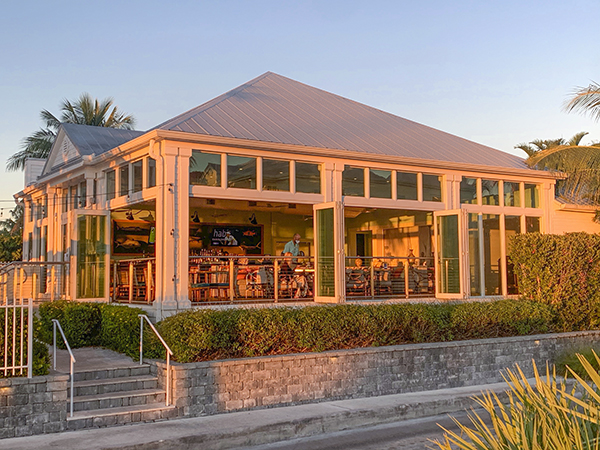 Yellowfin bar and grill at Oceans Edge Resort Oceanside Marina
